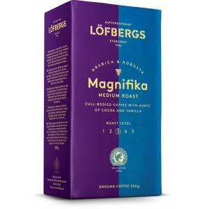 Кофе молотый Lofbergs Magnifika 500г