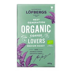 Кофе молотый Lofbergs Organic 450 г