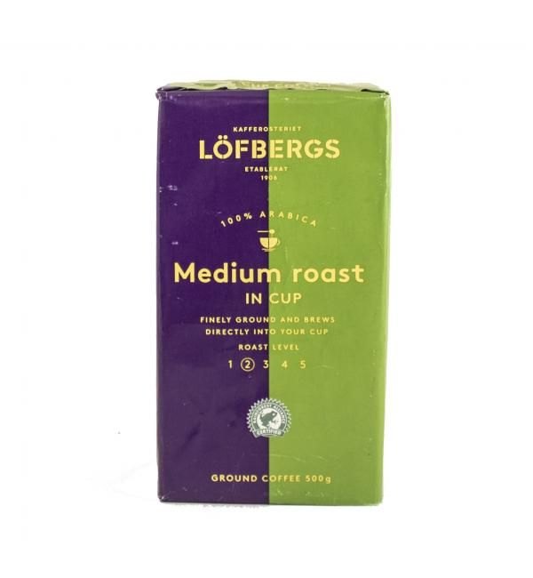 Кофе молотый Lofbergs In Cup 500г