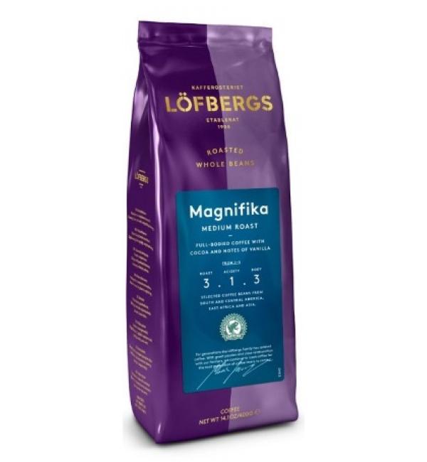 Кофе зерновой Lofbergs Magnifika 400г