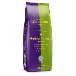 Кофе молотый Lofbergs Medium Roast 250г
