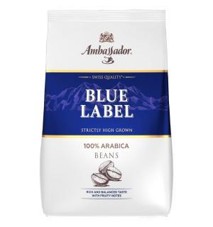 Кофе зерновой Ambassador Blue Label 1кг