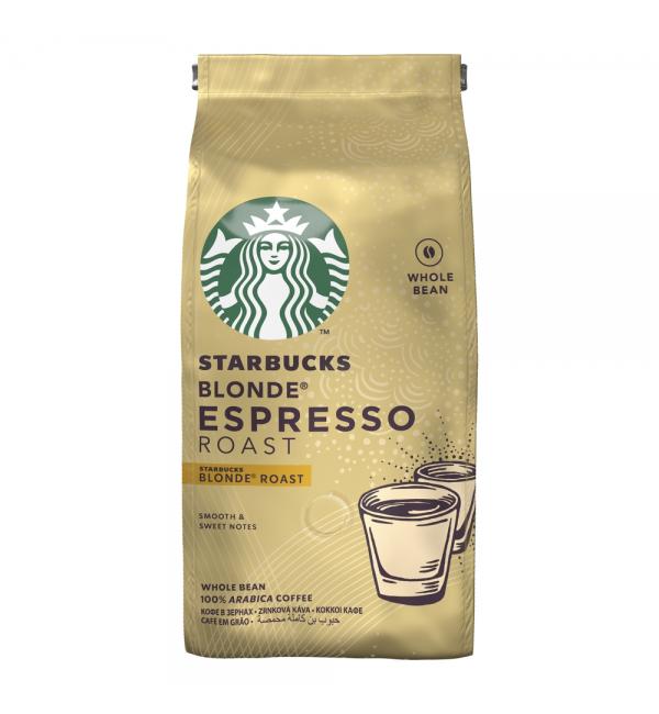 Кофе зерновой STARBUCKS Blonde Espresso Roast 200г