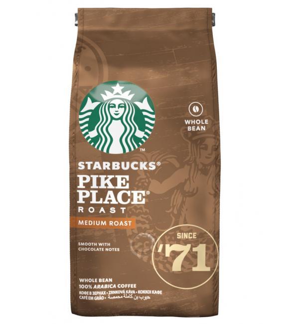 Кофе зерновой STARBUCKS Pike Place Roast 200г