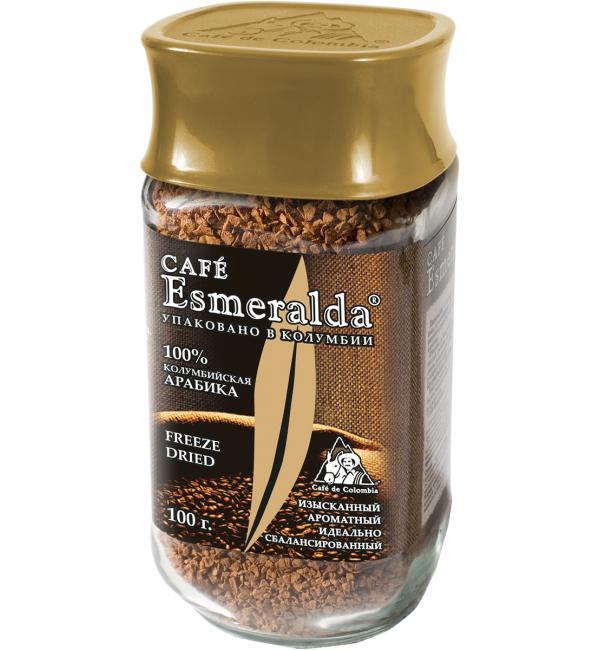 Кофе растворимый Esmeralda 100г