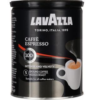Кофе молотый Lavazza Espresso 250г (Железная банка)