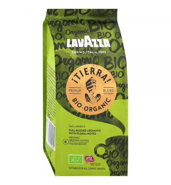 Кофе молотый Lavazza Tierra BIO-ORGANIC 180г