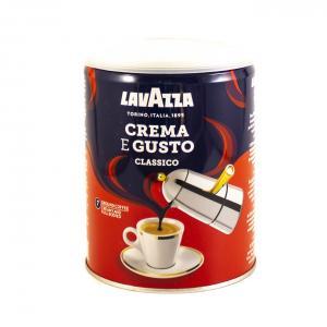 Кофе молотый Lavazza Crema E Gusto (Железная банка) 250г