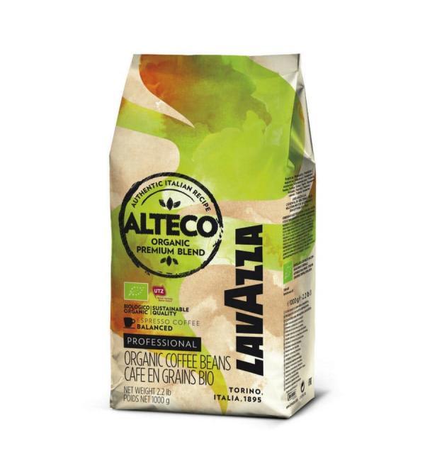 Кофе зерновой Lavazza Alteco Bio 1кг
