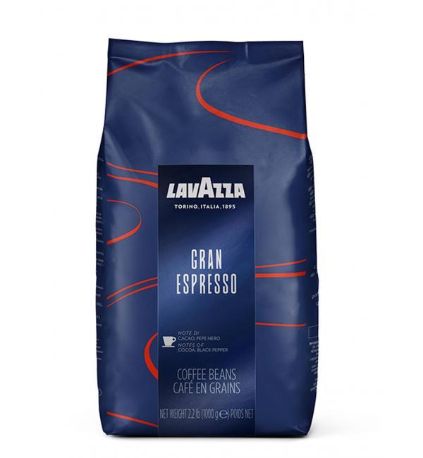 Кофе зерновой Lavazza GRAN Espresso 1кг