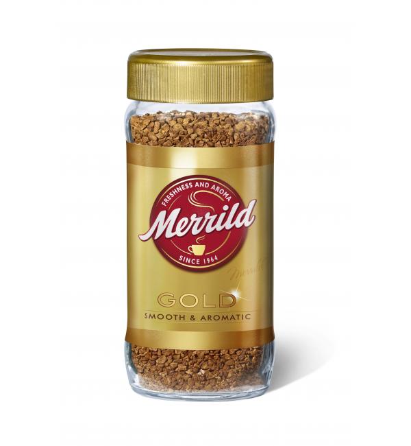 Кофе растворимый Merrild Gold 200г