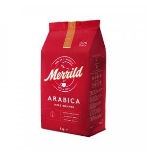 Кофе зерновой Merrild Arabica Hele Bonner 1кг
