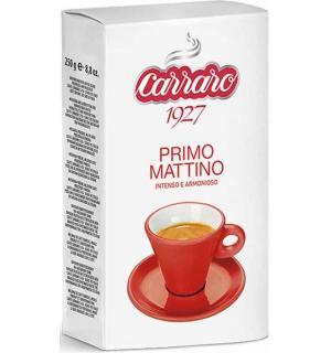 Кофе молотый Carraro Primo Mattino 250г