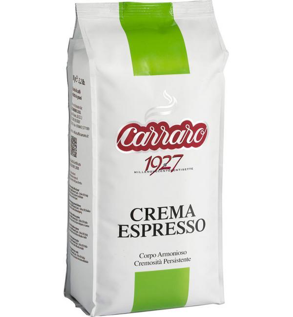 Кофе зерновой Carraro Crema Espresso  1кг