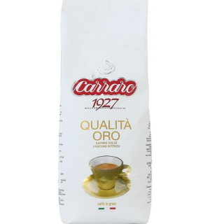 Кофе зерновой Carraro Qualita Oro 1кг