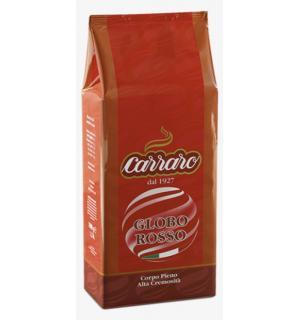 Кофе зерновой Carraro Globo Rosso 1кг