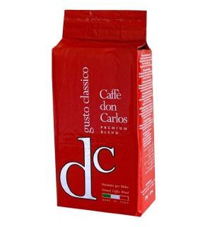 Кофе молотый Don Carlos  Gusto Classico 250гр