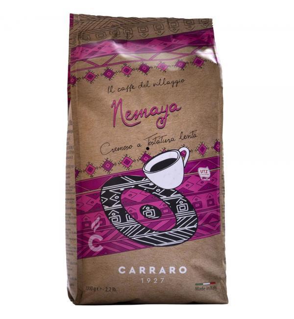 Кофе зерновой Carraro Nemaya 1кг