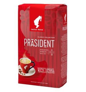 Кофе зерновой Julius Meinl President 1кг
