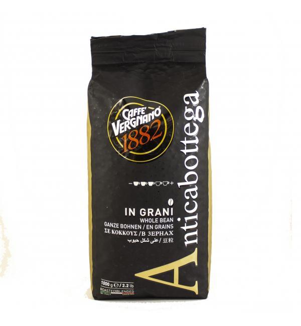 Кофе зерновой Caffe Vergnano Anticabottega 1кг