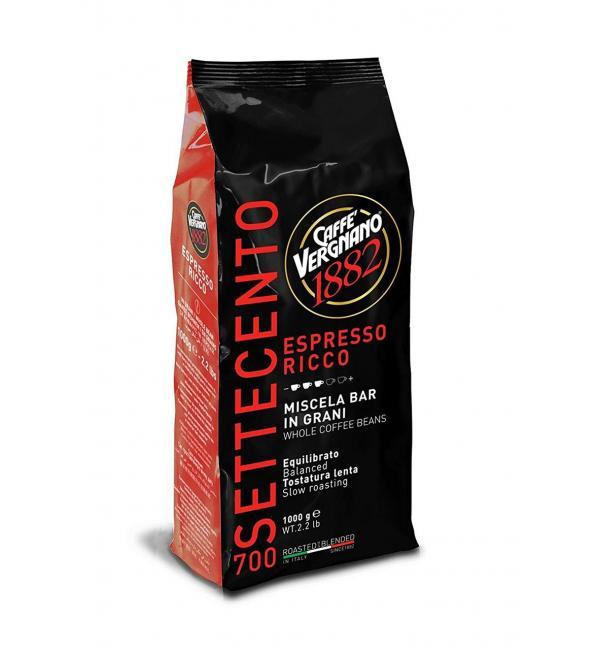 Кофе зерновой VERGNANO ESPRESSO RICCO 700 1кг