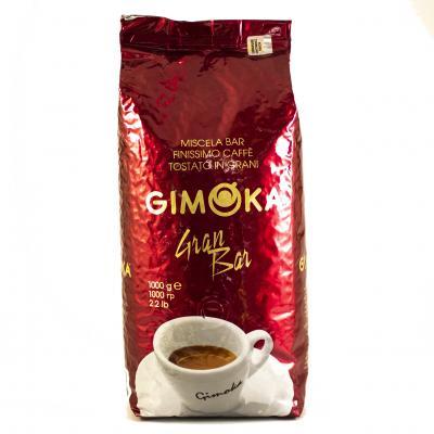 Кофе зерновой Gimoka Rosso Gran Bar 1кг