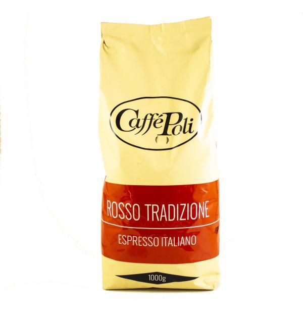 Кофе зерновой Poli Rosso Tradizione 1кг