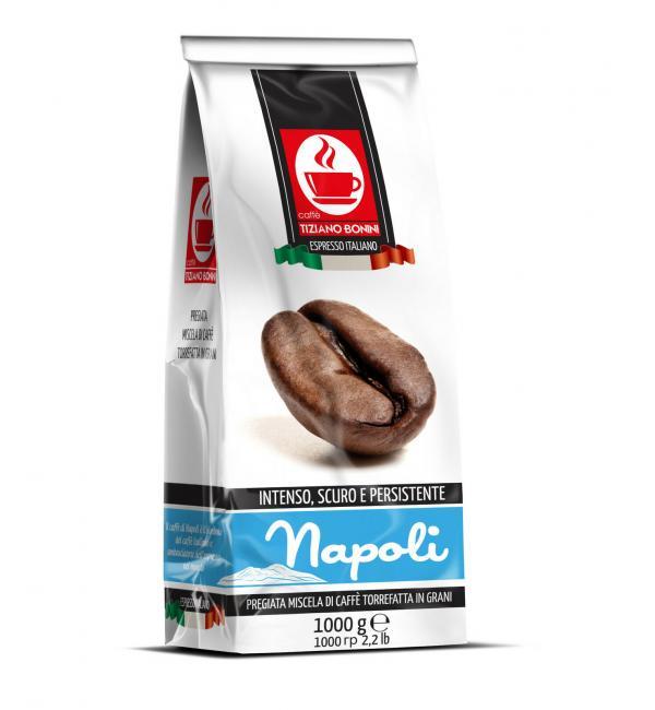 Кофе зерновой Bonini Napoli 1кг