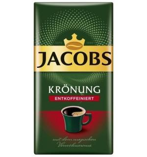 Кофе молотый Jacobs Kronung Entkoffeiniert 500г