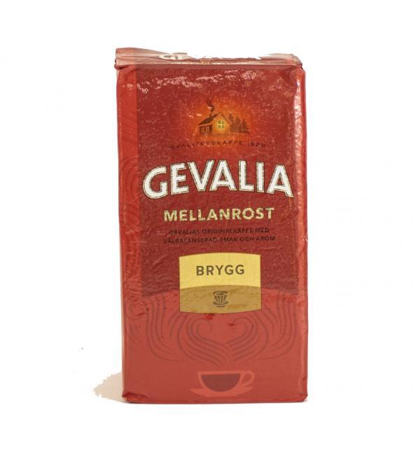 Кофе молотый Gevalia Brygg 450г