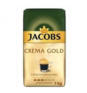 Кофе зерновой Jacobs Crema Gold Expertenröstung 1кг