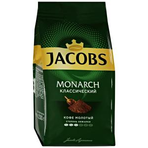 Кофе молотый Jacobs Monarch Classic 230г