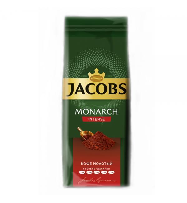 Кофе молотый Jacobs Monarch Intense 230г