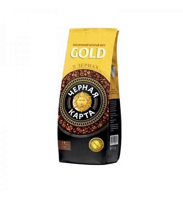 Кофе зерновой Черная Карта Gold 1кг