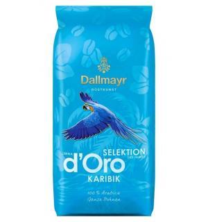 Кофе зерновой Dallmayr D'Oro Karibik Выбор года 1кг