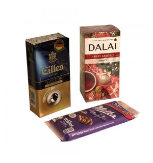 Новогодний набор Eilles+Dalai+Milka