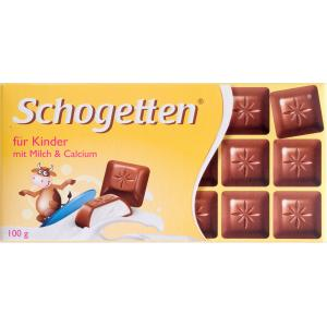 Шоколад Schogetten For Kids with Milk 100г