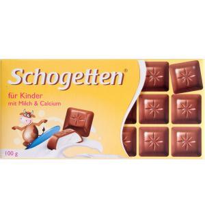 Шоколад Schogetten For Kids with Milk 100г