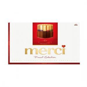 Шоколад MERCI Finest Selection ассорти 400г