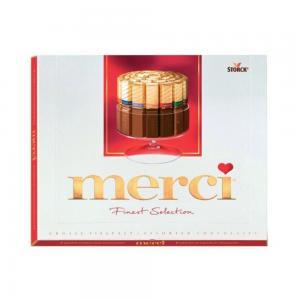 Шоколад MERCI Finest Selection ассорти 250г