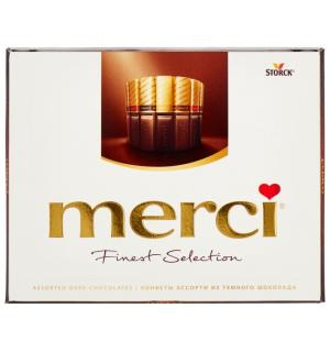 Шоколад MERCI Finest Selection ассорти горький 250г