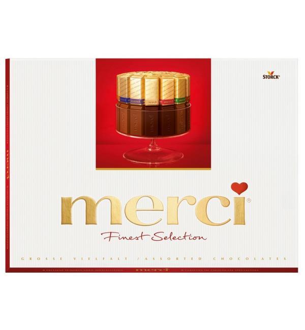 Шоколад MERCI Finest Selection ассорти 675г