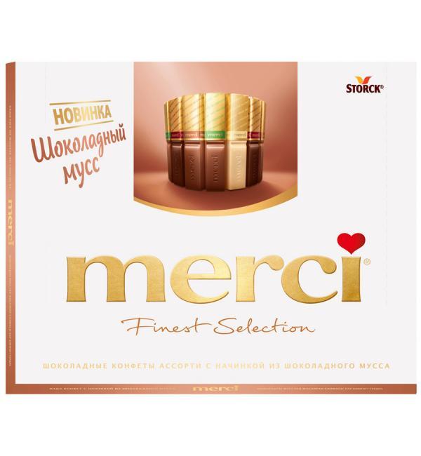 Шоколад MERCI Finest  Selection 210г