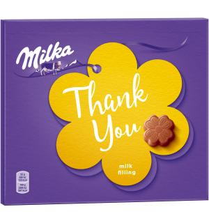 Конфеты Milka молочная начинка 110г