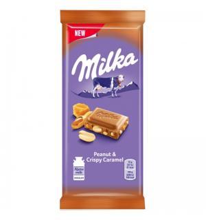 Шоколад Milka Caramel 90г