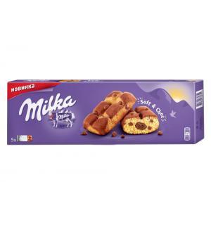 Пирожное Milka шоколадная начинка 175г