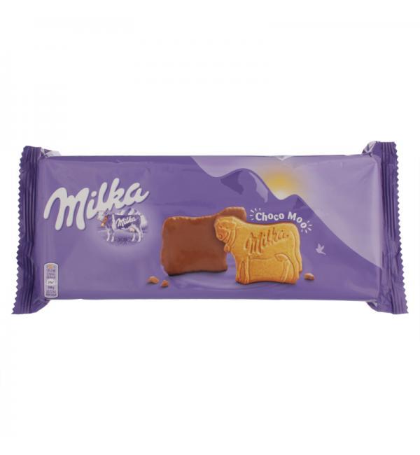Печенье Milka с молочным шоколадом 200г