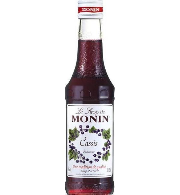 Сироп Monin Чёрная смородина 250г