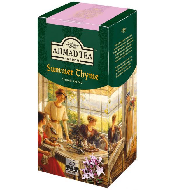 Чай черный Ahmad Tea Летний чабрец 37,5г (25 пак.)