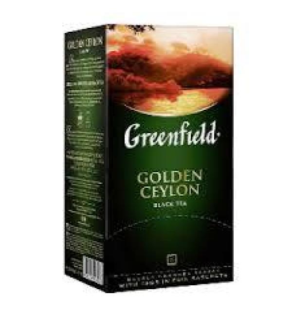 Чай черный Greenfield Golden Ceylon 50г (25 пак.)